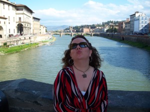 This is me enjoying Florence.